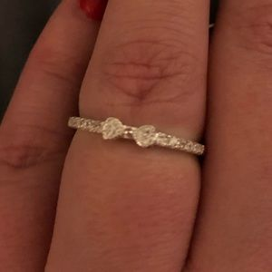 Sterling Silver Dainty Bow Ring